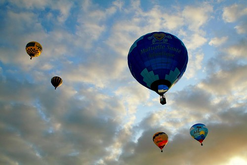 balloons at thouars