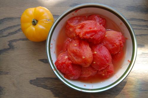 Blanched & Peeled San Marzano Tomatoes
