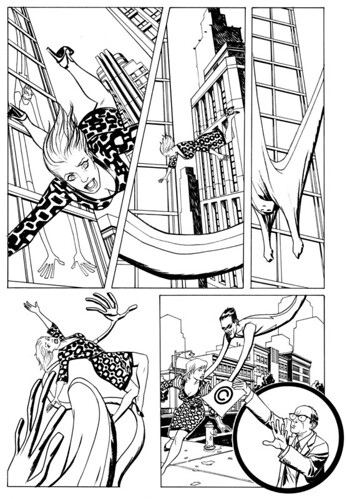Mr. Gum page 1 - for Liberty Comics #2