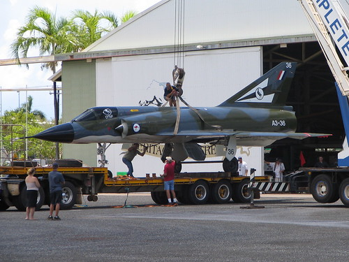 Photograph 0209 - Mirage A3-36 Returns to Darwin's Aviation Heritage Centre