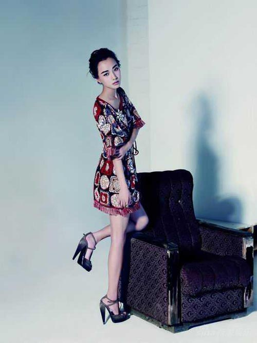 Wang Luo Dan Magazine Photoshoot - beautiful girls