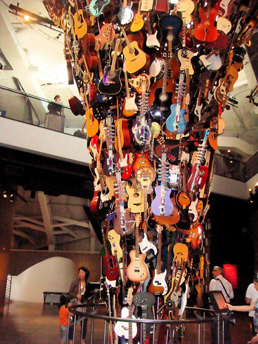 guitar sculpture