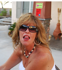 Tongue me (cjacobs53) Tags: jacobs jacobsusa sherry tongue neck necklace tube top tubetop monthly scavenger hunt msh msh0909 msh09096 tied freckle sun glass sunglass