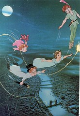 Off To Neverland! (Starshyne09) Tags: london flying cartoon tinkerbell peterpan disney animation wendy bookscan wendydarling johndarling michaeldarling