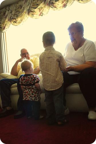 mommal & poppal visit