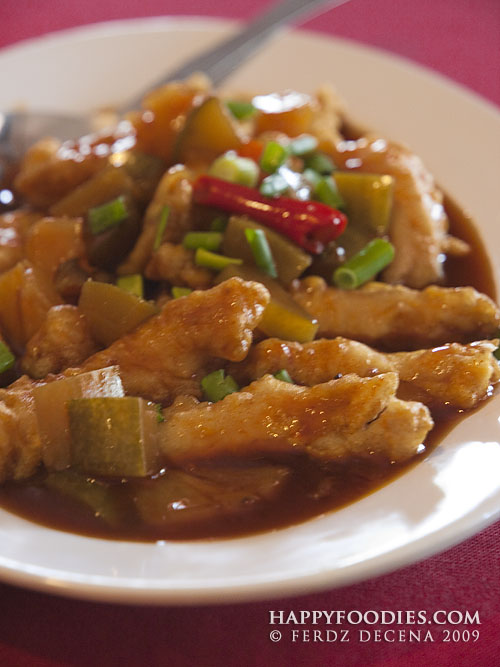 Fish Fillet on Tamarind Sauce