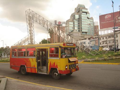 Transporte público em Caracas