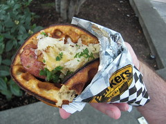 Oktoberfest waffle from Parkers