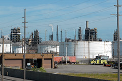 BP Refinery, Whiting (elryerson85) Tags: industry indiana gas oil bp whiting calumetregion northwestindiana clineavenue whitingrefinery