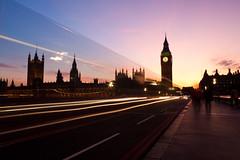 Sunset on Westminster Bridge (Flakkers) Tags: longexposure bridge sunset westminster canon geotagged eos parliament bigben lighttrails breathtaking lightroom practicalphotography 1000v40f 450d gowland geo:lat=51500889 platinumheartaward theperfectphotographer breathtakinggoldaward flakkers artofimages geo:lon=012093 daarklands breathtakinghalloffame