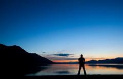 Great Wide Open (Universal Stopping Point) Tags: sunset lake canada silhouette yukon territory lakekluane disasterbay gettyvacation2010