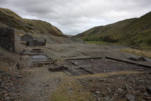 Mine site, Cwmystwyth