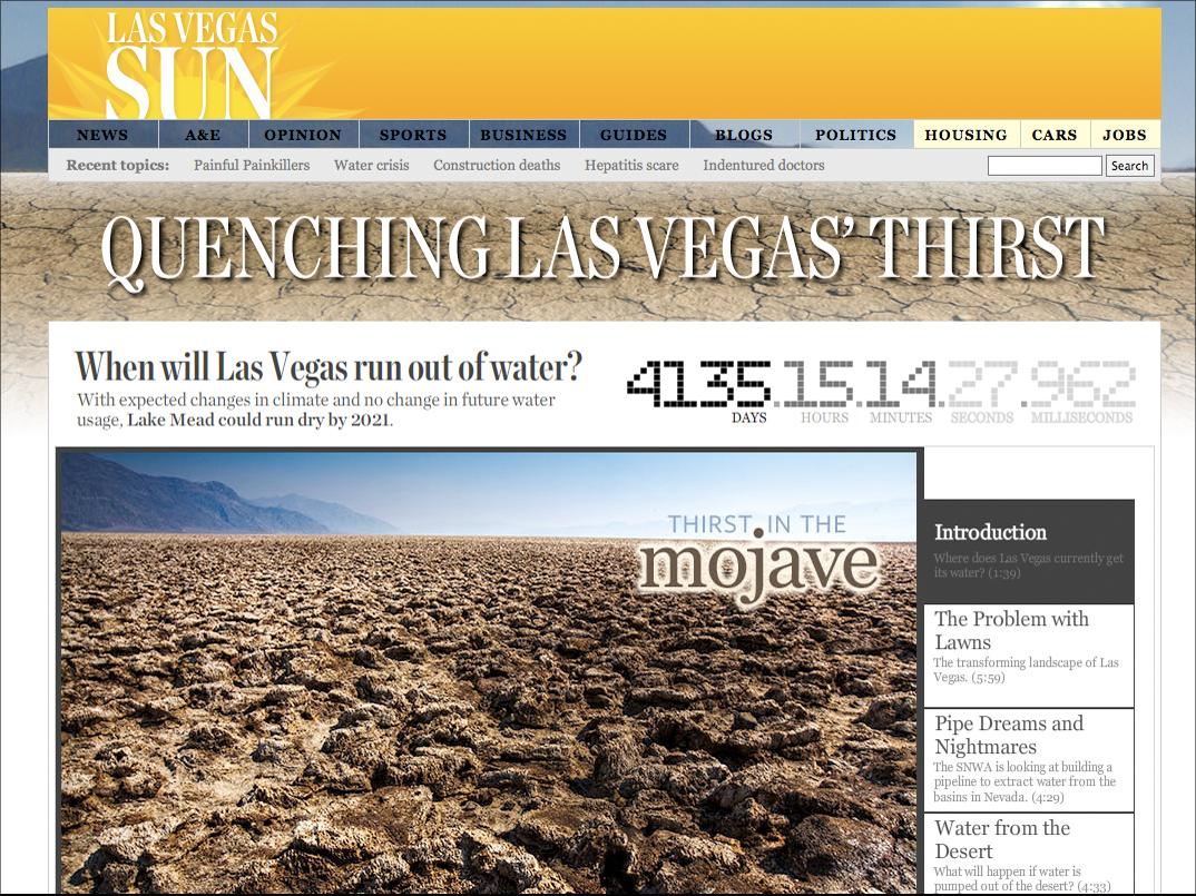 Quenching Las Vegas' Thirst