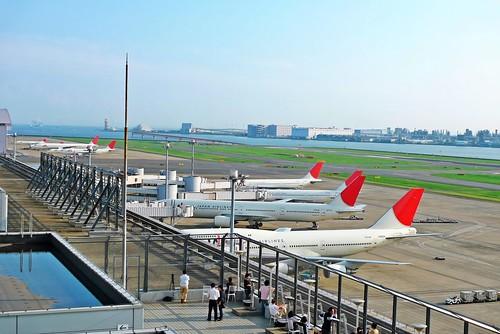 Haneda runway