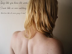 This saying (atomicaddicition) Tags: life girl hair naked back perfect soft tanya skin body bare curls teen blonde teenager dimples freckles atomic