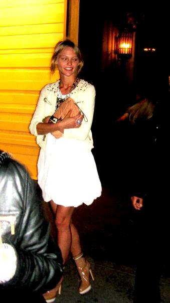 sasha pivovarova fashion night out 2