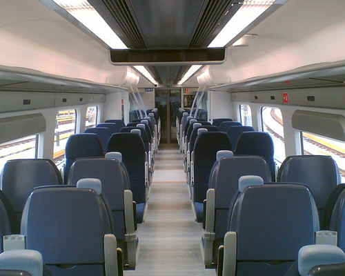 Javelin - interior of carriage