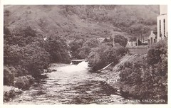Kinlochleven, Looking Up The River Leven