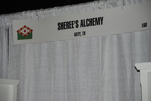 Sheree's Alchemy Quilt Market Booth 1 by you.