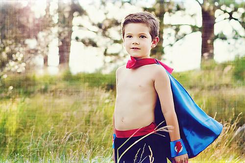 Andrew superhero texture