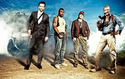 091025(2) - 好萊塢電影版『天龍特攻隊 The A-Team』幕後採訪影片、首張宣傳劇照正式出爐