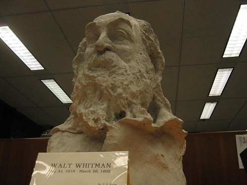 Walt Whitman's face