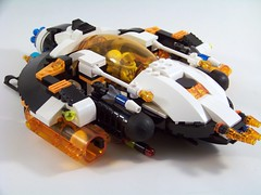 LEGO Mars Mission Hybrid Fighter (Slayerdread) Tags: fighter ship lego space hybrid moc marsmission