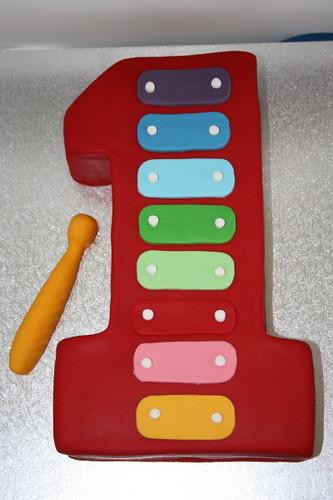 Xylophone Birthday Cake Images