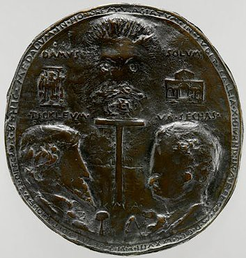 Saint-Gaudens Satirical medal of McKim and White