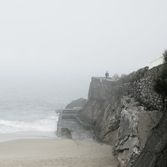 . (Asier.) Tags: beach fog playa sansebastian niebla bruma ondarreta donstia sonyalpha asierra