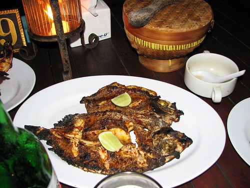 Grilled Fish Dinner @ Jimbaran, Bali