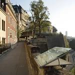Luxembourg: Balade sur le chemin de la Corniche, sur les mues de la forteresse (UNESCO)