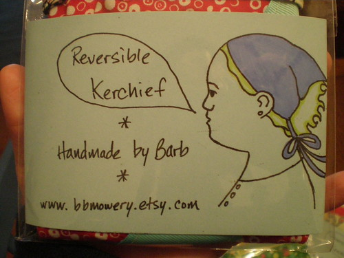 Reversible kerchiefs