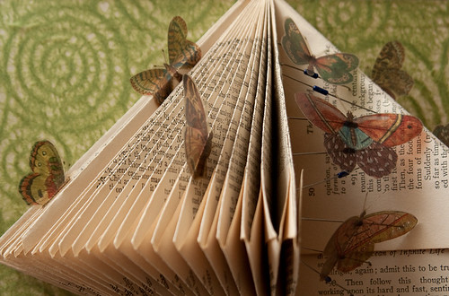 Altered Book: The Butterfly Effect