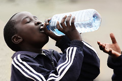 boy drinking water (Blake Wales) Tags: water hunger famine