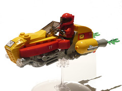 Interplanetary Delivery  Bike (JonHall18) Tags: lego scifi vehicle speeder moc airspeeder