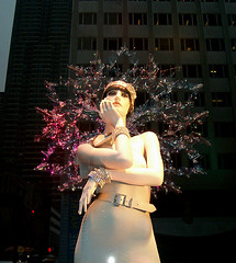Snowflake (Viridia) Tags: christmas nyc winter urban newyork mannequin fashion reflections mannequins manhattan stjohn fifthavenue windowdisplay storewindows newyorkny holidaywindows newyorkcityny christmaswindows 5thavenuenyc newyorkcitychristmas midtownnyc rootsteinmannequins christmas2009 stjohnchristmaswindows stjohnwindows