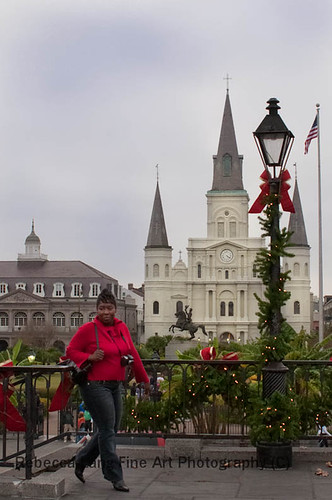 Christmas in New Orleans French Quarter