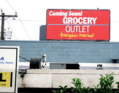 A new Grocery Outlet is coming to nearby SoDo. Photo by Jason.