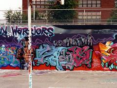 Vase UW (The Egg Man) Tags: new york city nyc urban art uw 35mm graffiti artist scanned jersey vase patterson warriors the