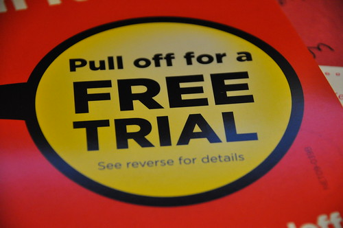 You Can Get a Free Trial For That?