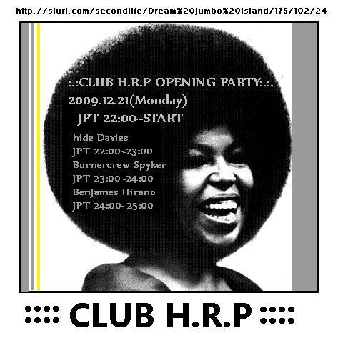 Live@CLUB H.R.P 20091221