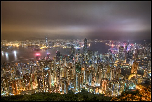 Hong Kong from the Peak HDR