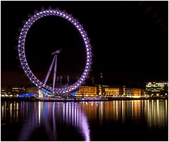 The London Eye @ Xmas night