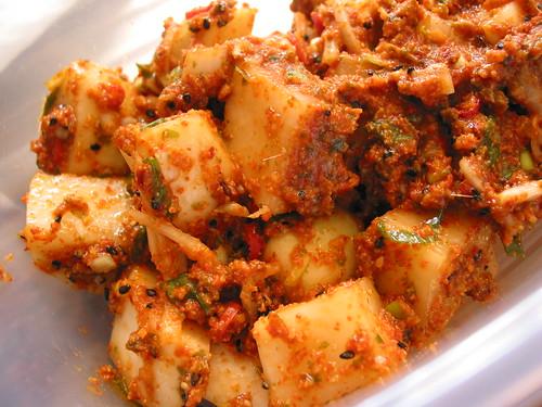 spicy fermented  radish - kaktugi
