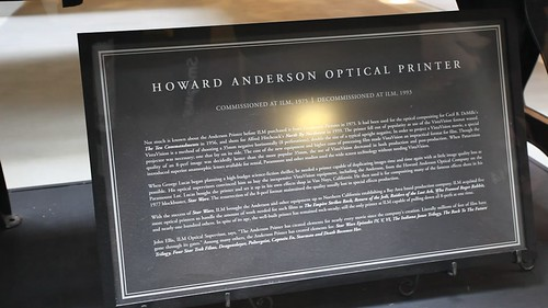 Video: Howard Anderson Optical Printer (influential in making of Star Wars, and other movies)