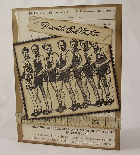 Vintage Basket Ball Card