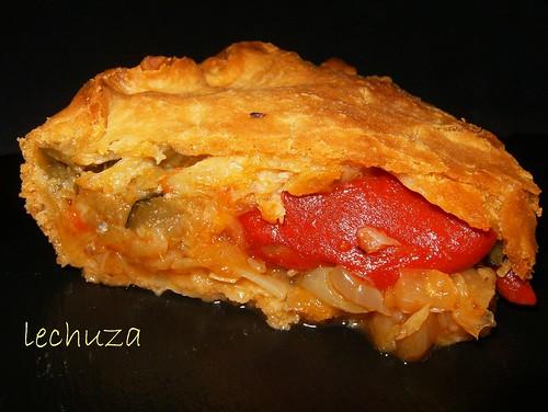 Empanada piquillos-porción