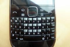 Nokia E6 keyboard