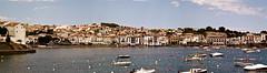 Barcas (anniagavañach) Tags: sea landscape boats mar costabrava cadaques emporda mediterrani negroamarillo mediterranenan summerbegining